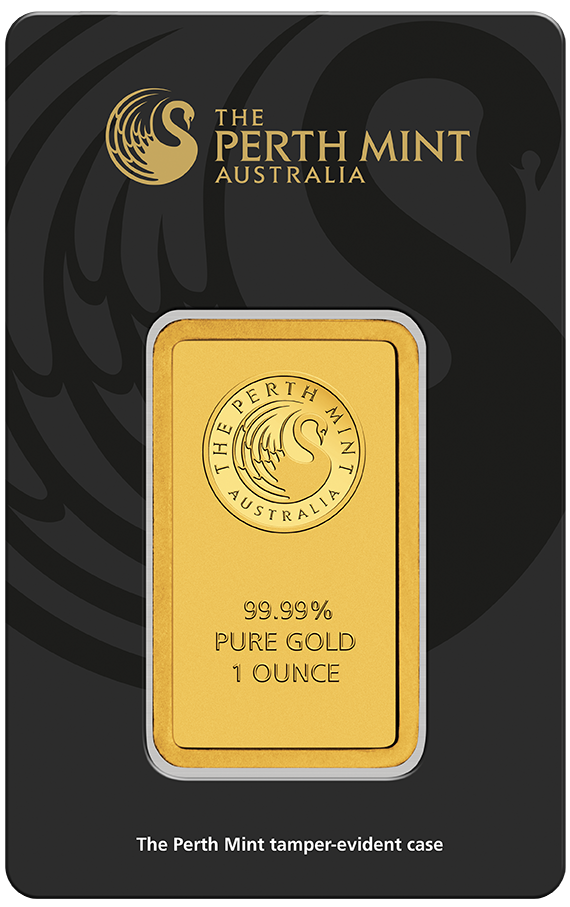 New Perth Mint 1oz Gold Bar In New Black Assay Card Each Bar Weighs 1 Troy Ounce And Are 999 9 Fine Gold Each Gold B Mint Gold Buy Gold And Silver Mint Bar
