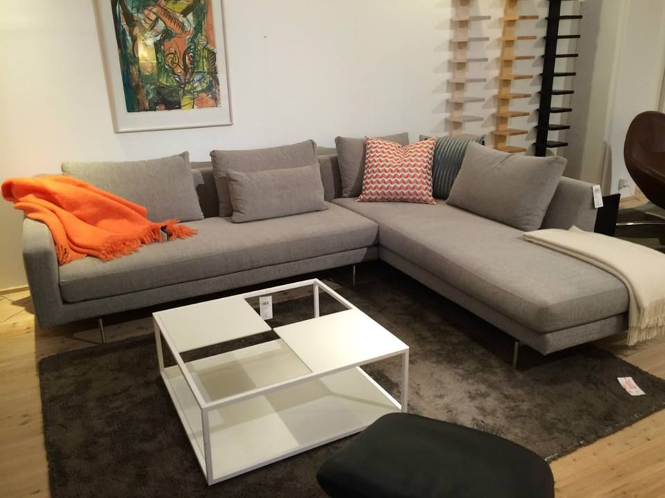 Edge Sofa On Display At Thorsen Møbler Aarhus If You Re Looking For A Light With Floating Design Then Our Is