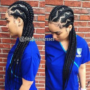 31 Cornrow Styles To Copy For Summer With Images Feed In Braid