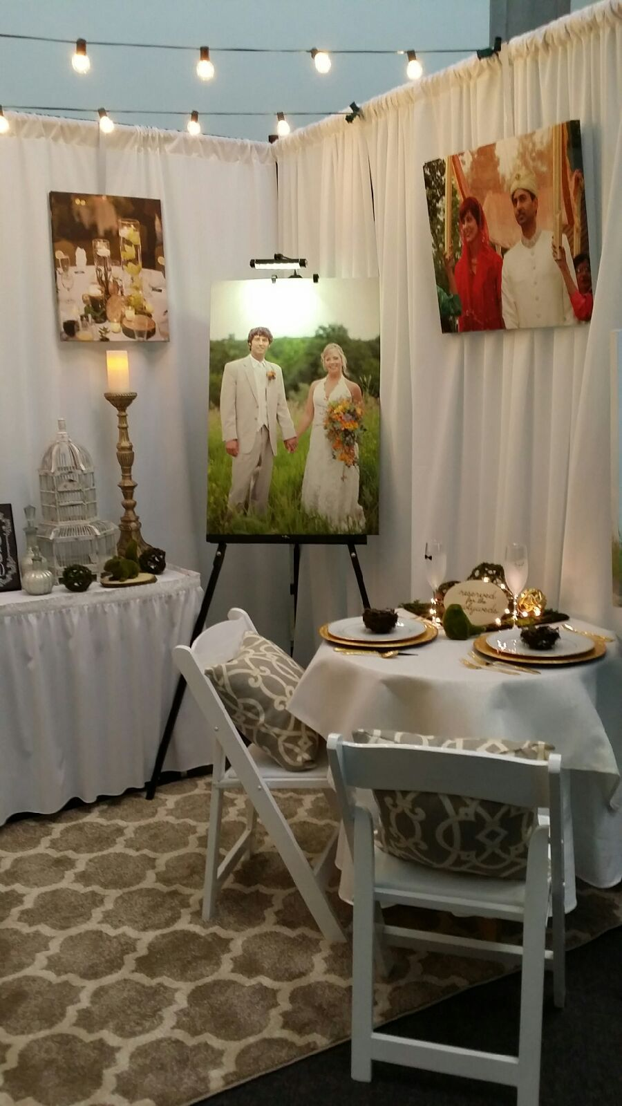 Bridal shows in illinois - Grand Bear Resort Banquets Conference Center Booth At The Illinois Valley Bridal Show Https