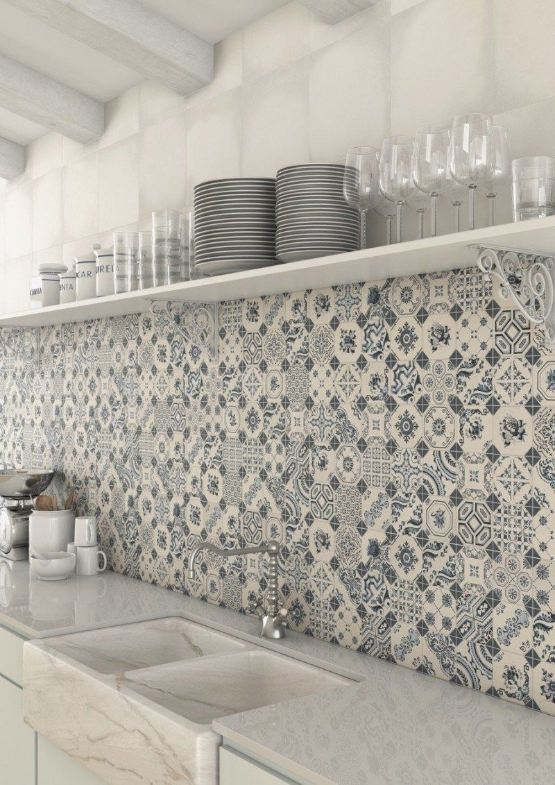 Best 12 Decorative Kitchen Tile Ideas Patchwork Kitchen Kitchen