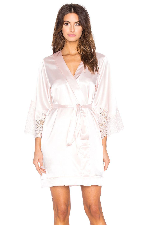 11ac90a5b7c52 REVOLVEclothing Lola Blush kimono Bridal Robe by Homebodii   Bridal ...