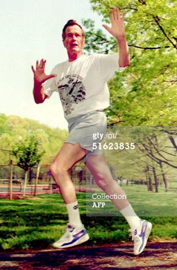 George Bush Nike Air Max 90