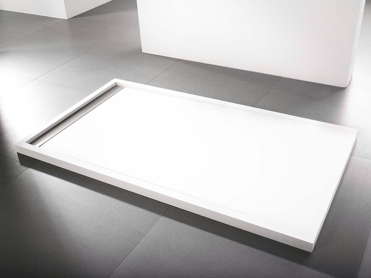 Kaldewei Conoflat Porcelanosa Shower Tray | Bathroom Design | Bathroom Taps