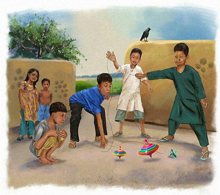 Pin by mano on Childhood memories | Art village, Cute kids ...