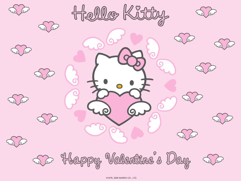 Hello Kitty Wallpaper Go To Hellokittyfr For A Ton Of Stuff Its In French So Just Poke Around D