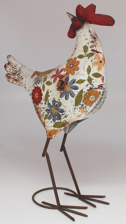 Audrey henburn metal hen with antique finish amazonco