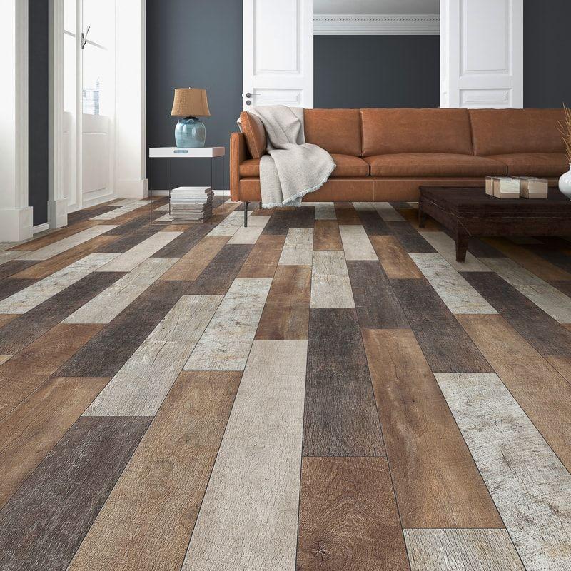 Burnham Oak Effect Laminate Flooring 2 22m Home B M In 2020