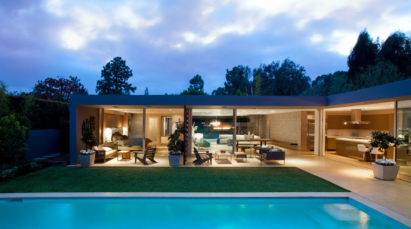 Angelo Residence Modern Los Angeles House With Stunning Zero Edge Pool 10 Stunning Homes Beautiful Modern Homes Architecture Architect