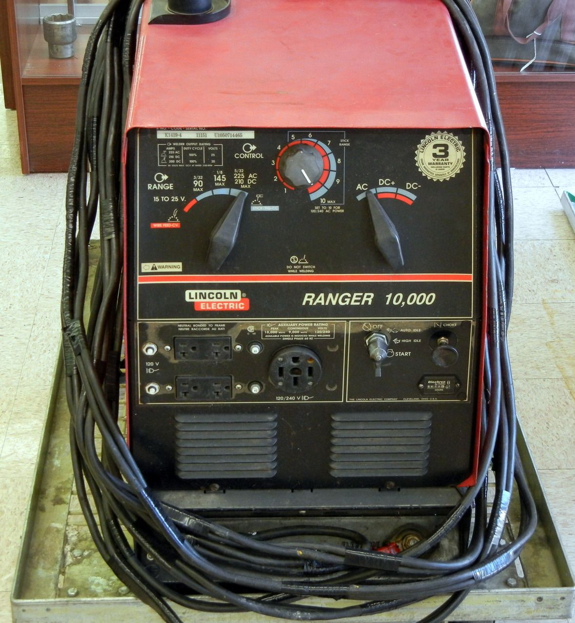pin by plano pawn shop on tools welder generator welding ranger lincoln ranger 225 lincoln ranger 10000 wiring diagram [ 1181 x 1280 Pixel ]