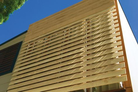 horiso timber external shading system - Google Search