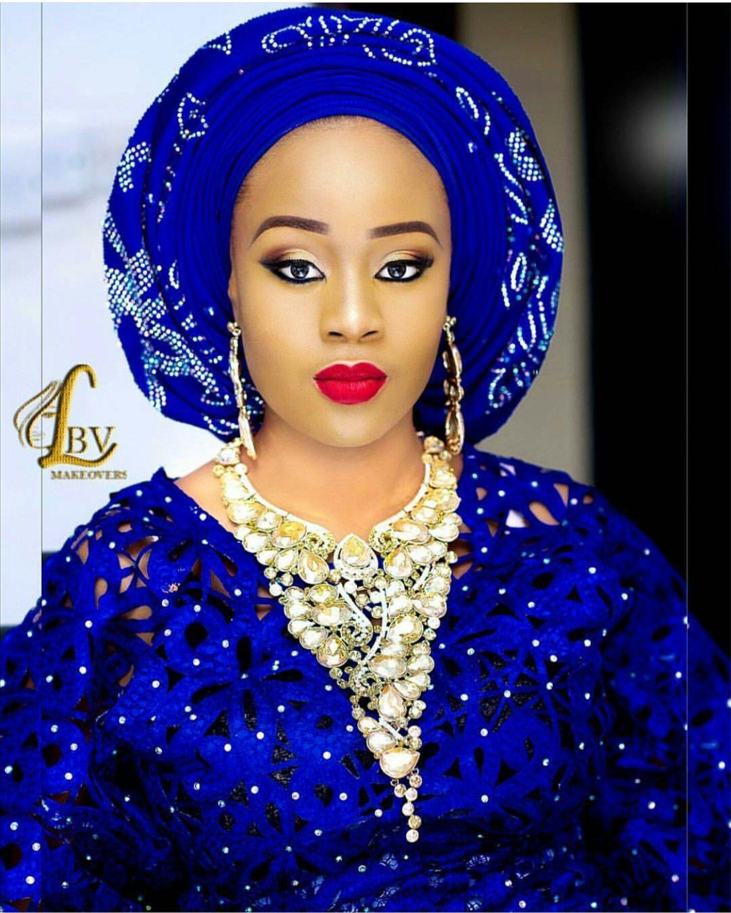 Aso ebi for yoruba wedding dress