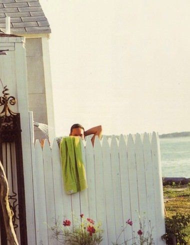 There's nothing more luxurious than a long, hot shower, don't you think? So what about an outdoor shower? To me, the idea seems t...