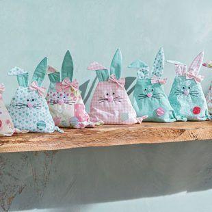 Anleitung: Stoffhasen zu Ostern nähen #hoppyeaster