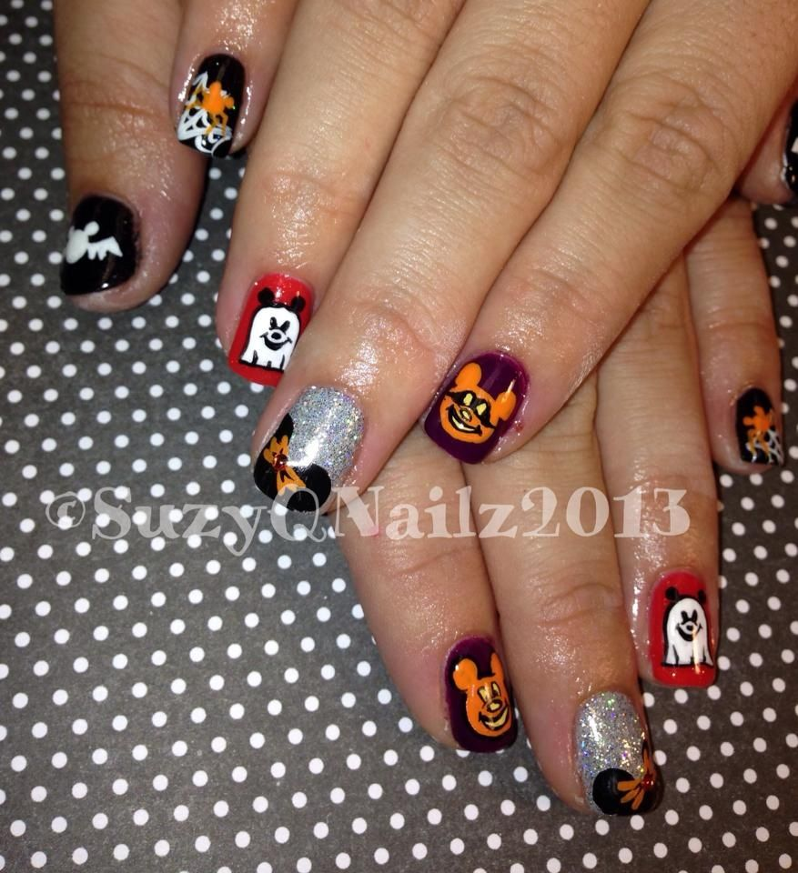 The 25+ best Disney halloween nails ideas on Pinterest ...