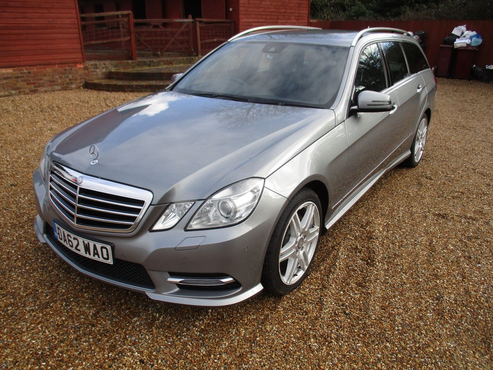 Mercedes Benz Vehicle Service History >> 2013 Mercedes E Class Estate Full Service History Spares Or Repair