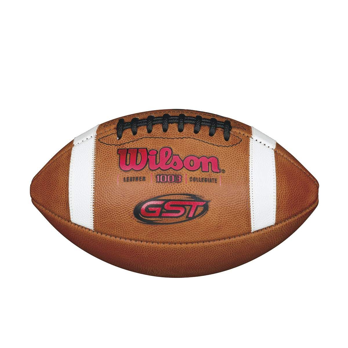 The wilson gst football is the preferred ball of over 180