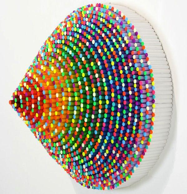 Paper Sculptures By Jen Stark ART DESIGN Pinterest Jen - Mesmerising hand crafted paper sculptures jen stark