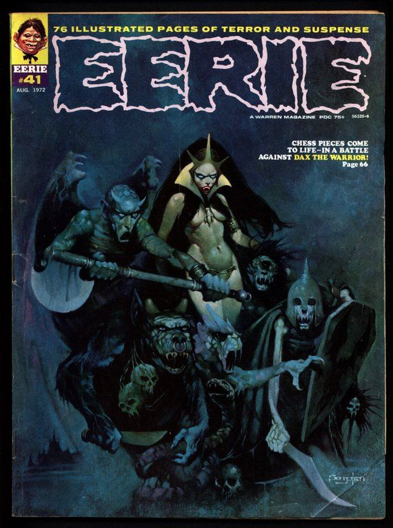 EERIE #41 b Vintage Classic Horror Comic Warren Magazine DAX The
