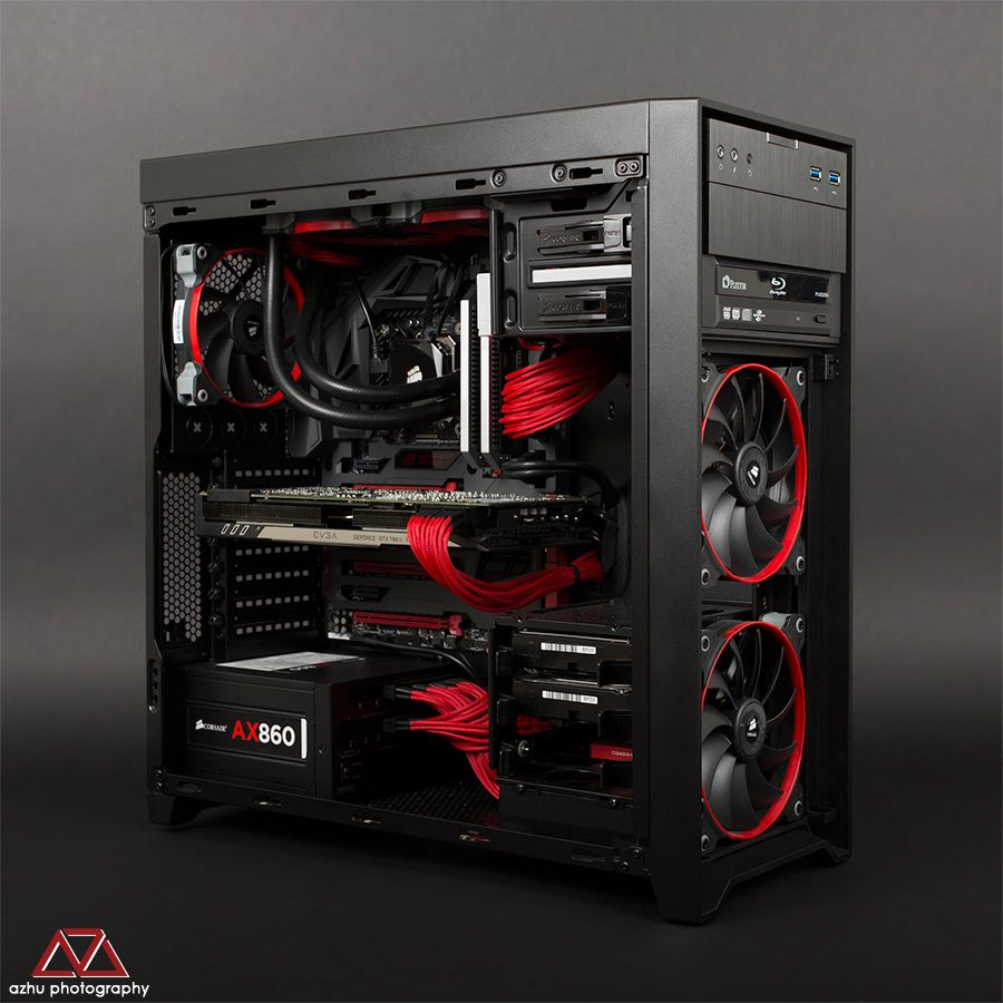 corsair obsidian series 450d mid tower pc mods. Black Bedroom Furniture Sets. Home Design Ideas