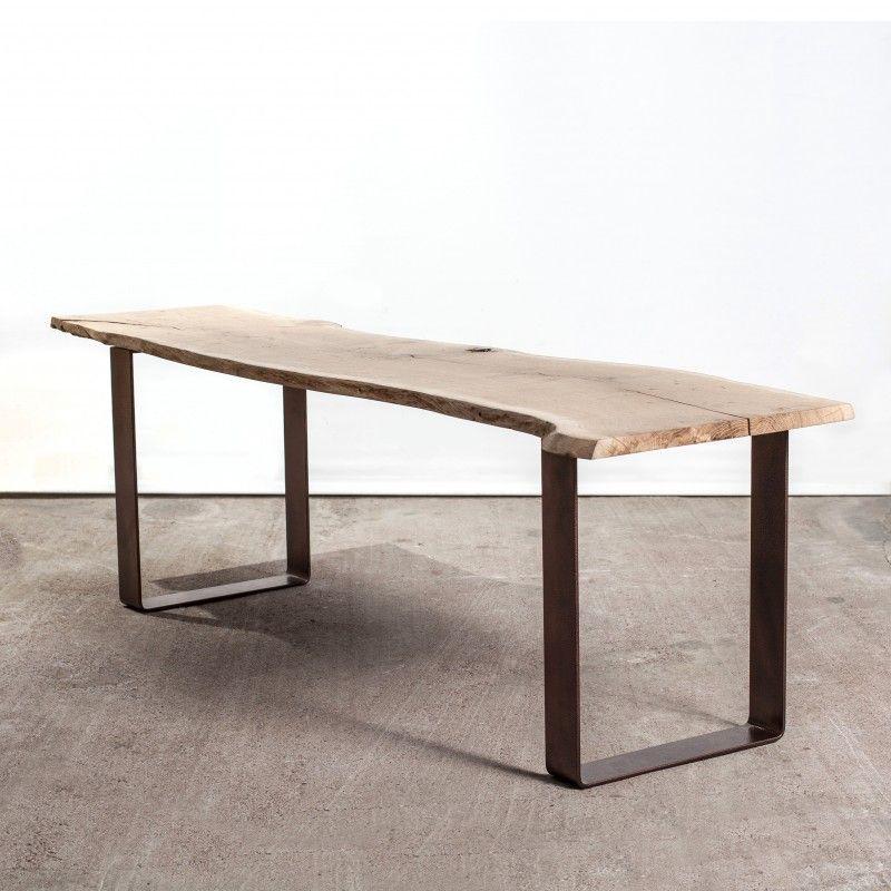 CmDe Pied Table 40 Basse Plat Acier Fer Fin FT1cKJl