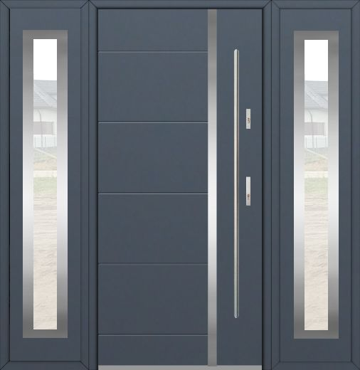 Fargo 41T – front door with two side panels