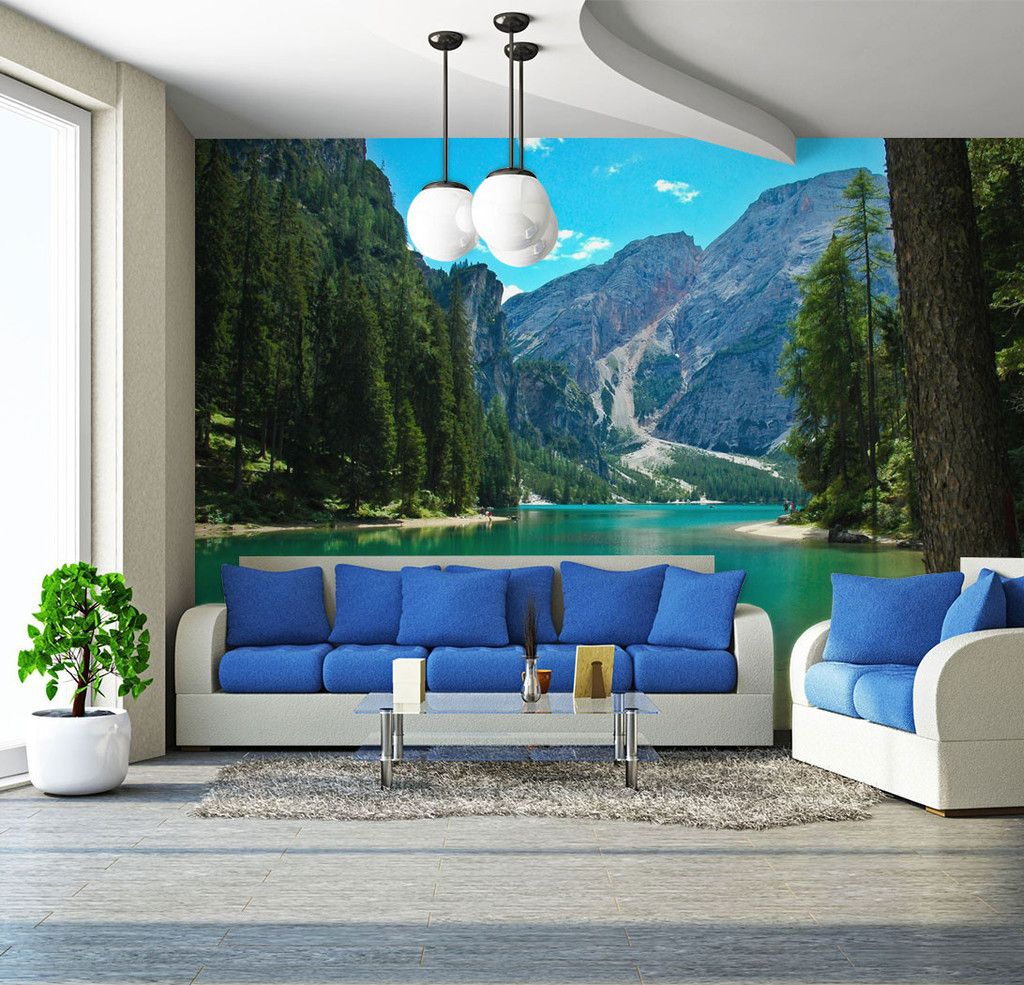 Lake mountains in italy wall mural wall murals italy and lakes lake mountains in italy wall mural amipublicfo Images