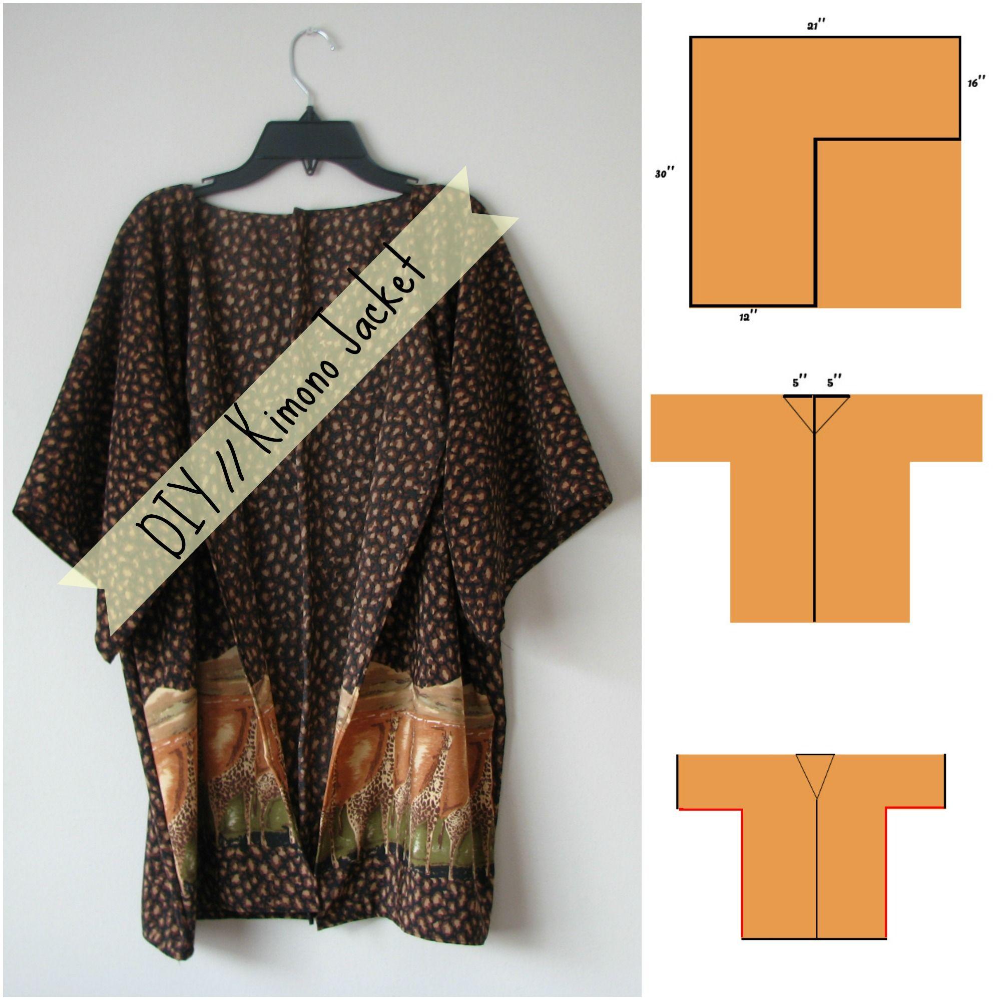 kimono cardigan c and a - Google претрага | DIY | Pinterest | Nähen ...