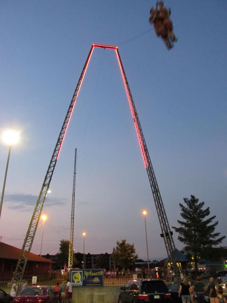 The Skycoaster At The Track In Gulf Shores Alabama This Is The
