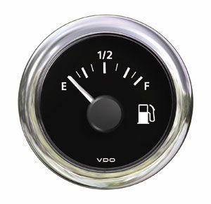 Reloj ViewLine VDO Negro Nivel Combustible  240 - 33 ohm