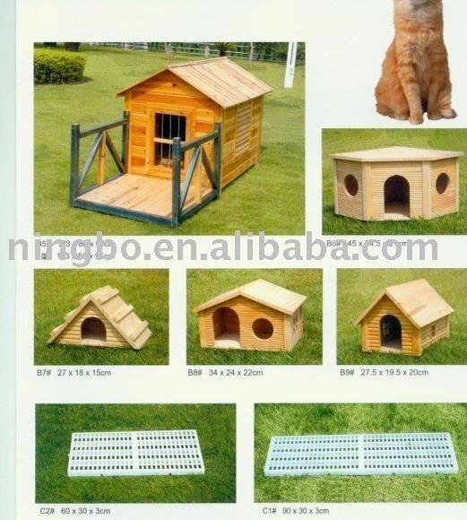 Outdoor kleines stärkeres Holz Haustier Katzenhaus ohne