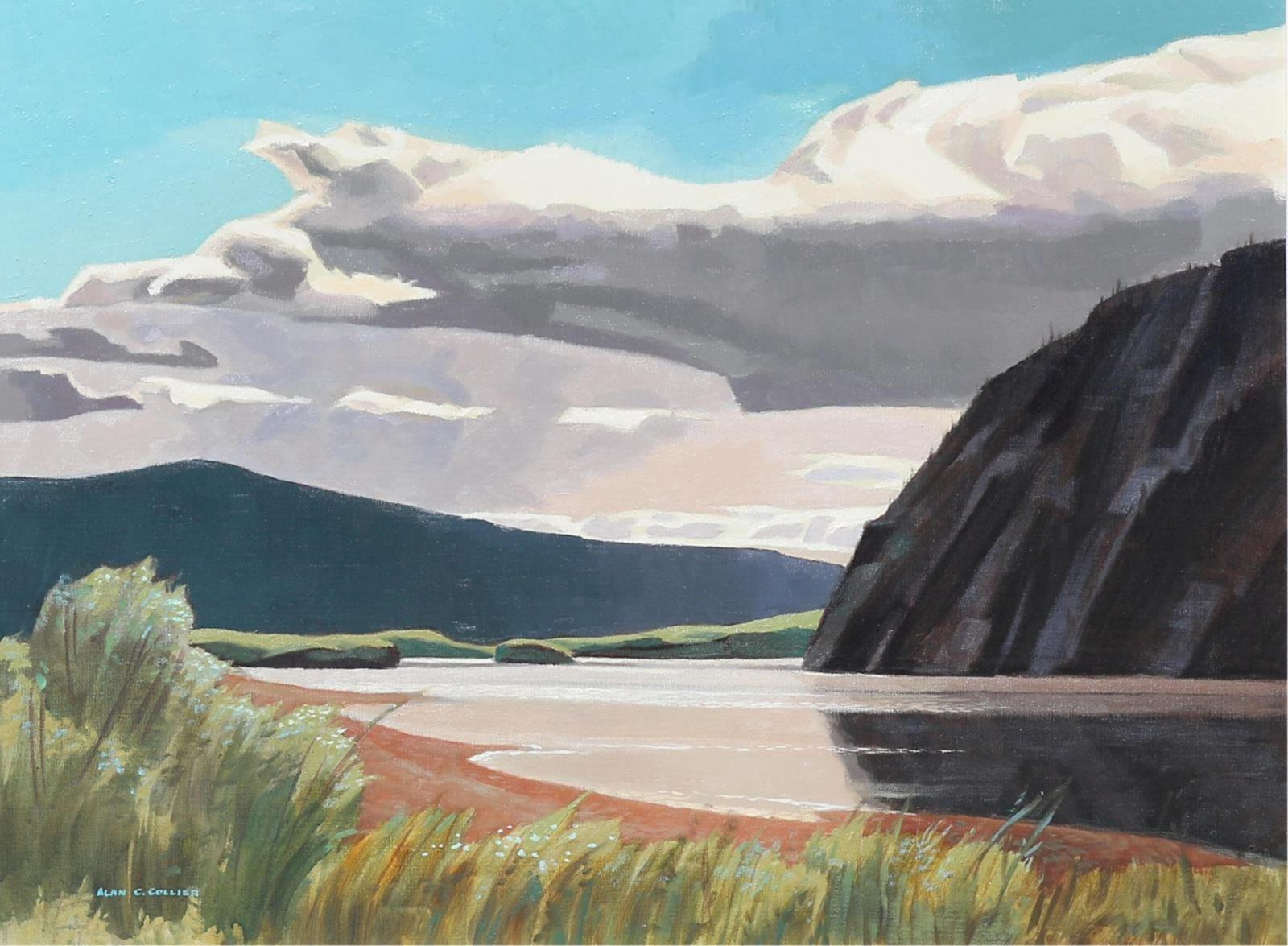 Alan collier yukon river canadian painters canadian