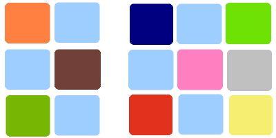Baby blue color palette, #blue #blueweddings