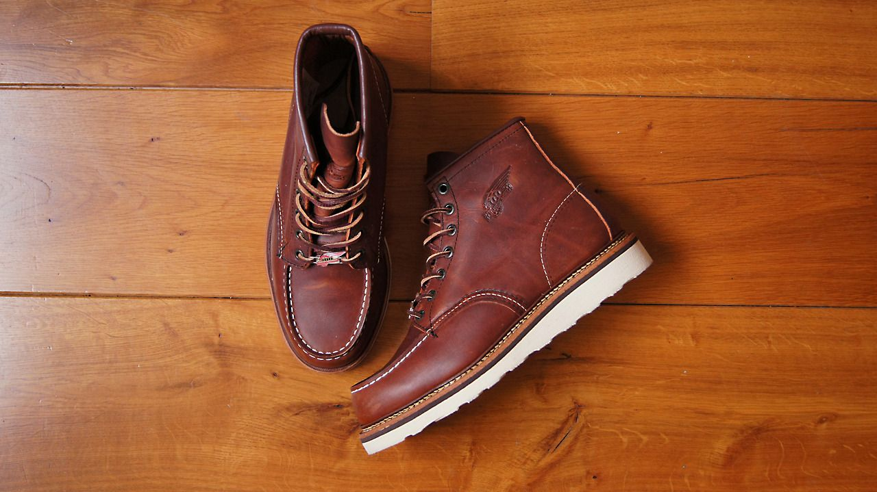 Red wing moc toe, Red wing boots