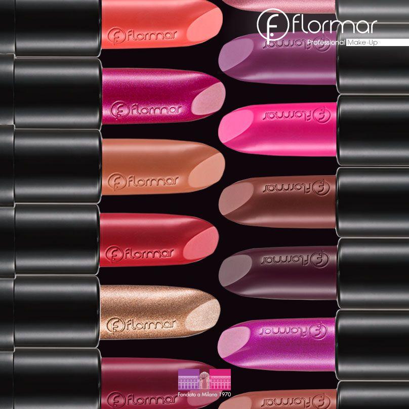 Tu sonrisa atrevida se destacará con Long Wearing Lipstick, mejora tus labios con su cremosa e hidratante textura! #Maquillaje #Flormar