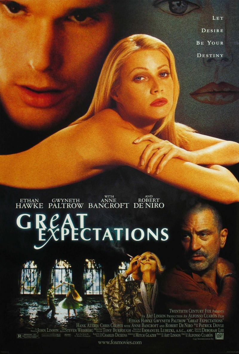 Great Expectations, 1997  Ethan, Gwyneth and Robert - fantastic.