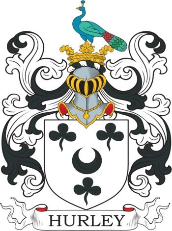 Hurley Family Crest and Coat of Arms | coadb | Coat of arms