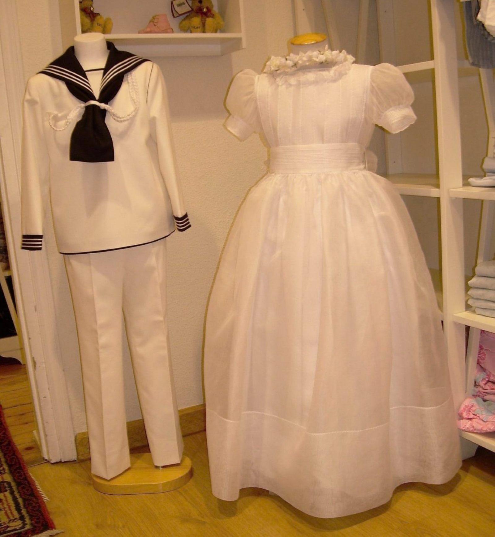 mejor servicio 55520 d8ad5 Prensa La Oca Loca | Comunion Dress | Vestidos con mangas ...