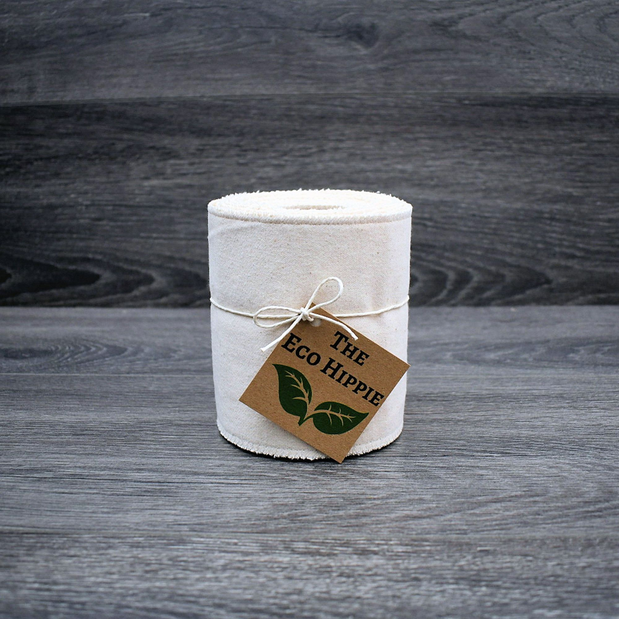 Eco Luxe Organic PaperLess Toilet Wipes / NO Snaps