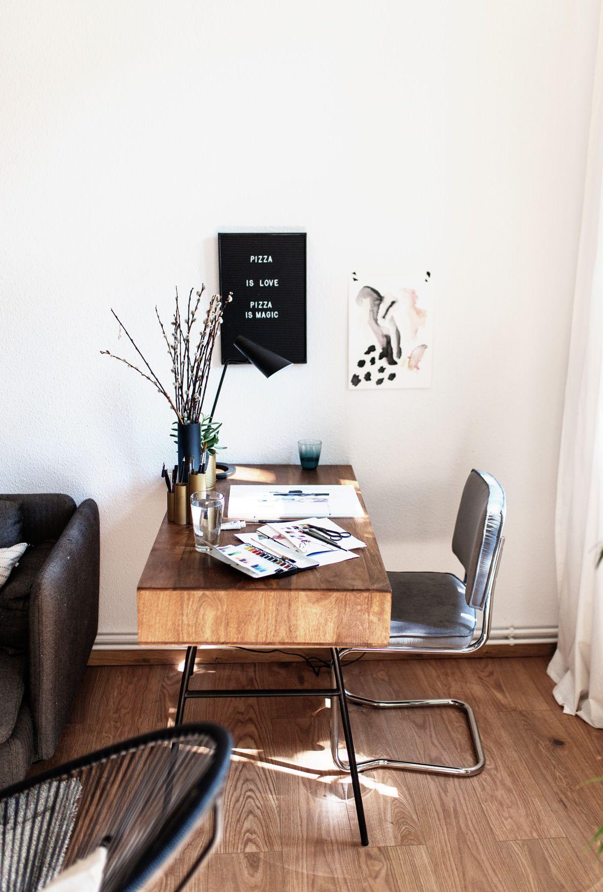 Interior Update: Der Schreibtisch / Zeichentisch | Decoration ...