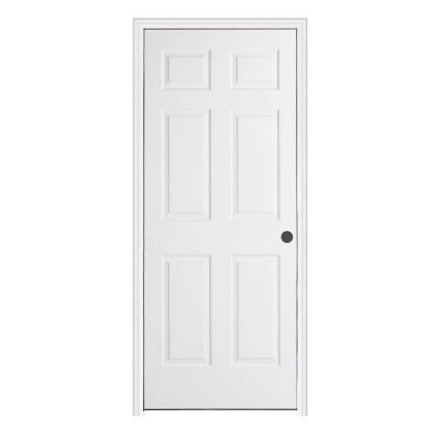 Jeld Wen 28 In X 80 In Colonist Primed Right Hand Textured Molded Composite Mdf Single Prehung Interior Door W Split Jamb Thdjw136501085 Prehung Interior Doors Prehung Doors Doors Interior