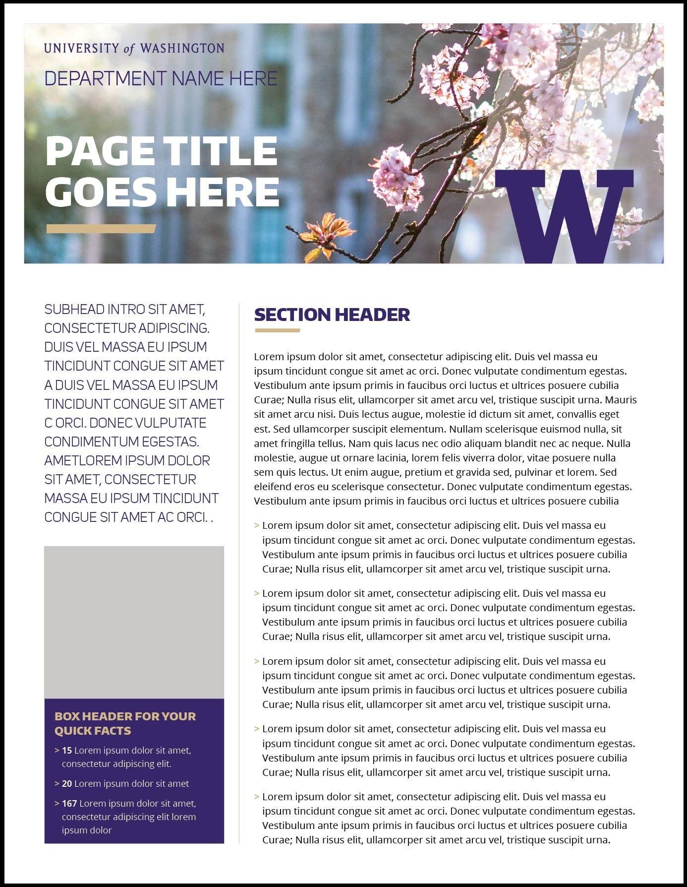 The Remarkable Fact Sheet Uw Brand Within Fact Sheet Template Word Pics Below Is Segment Of Fact Sheet Template In 2020 Fact Sheet Professional Templates Templates