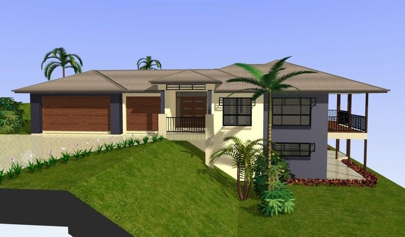 Sloping block home designs gold coast unique homes casa for Building a garage on a sloped lot
