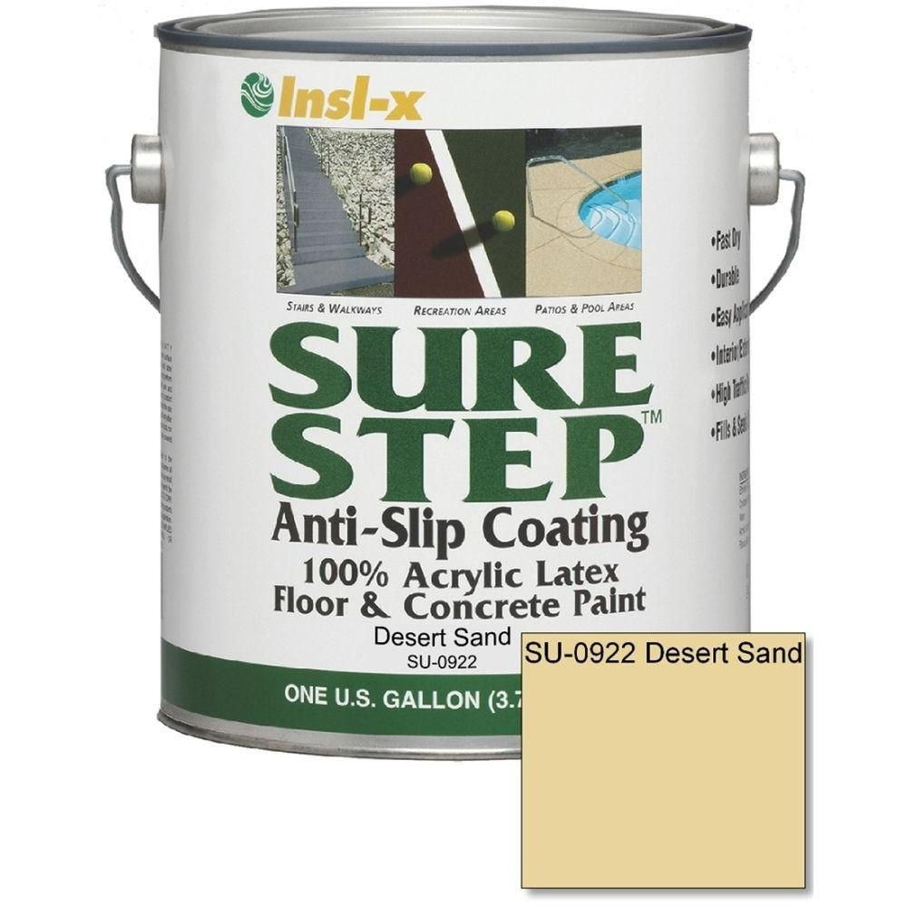 Sure Step 1 Gal. Anti Slip Acrylic Latex Interior/Exterior Floor And  Concrete