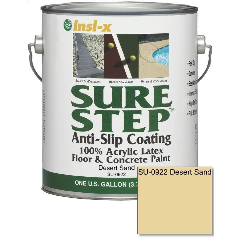sure step 1 gal anti slip acrylic latex interior exterior floor and