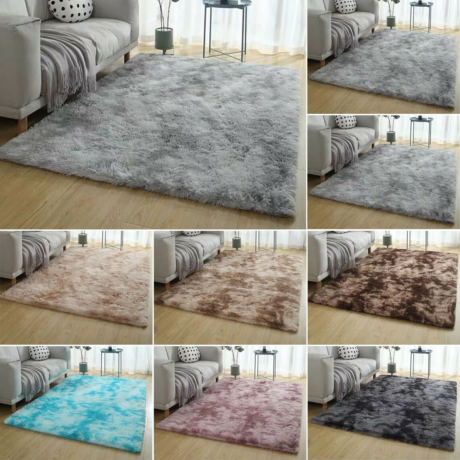 Shaggy Rugs Floor Carpet Living Room Bedroom Area Mat Soft Home Fluffy Large Rug 16 79 Area Rugs Ideas In 2020 Living Room Carpet Bedroom Carpet Bedroom Area Rug
