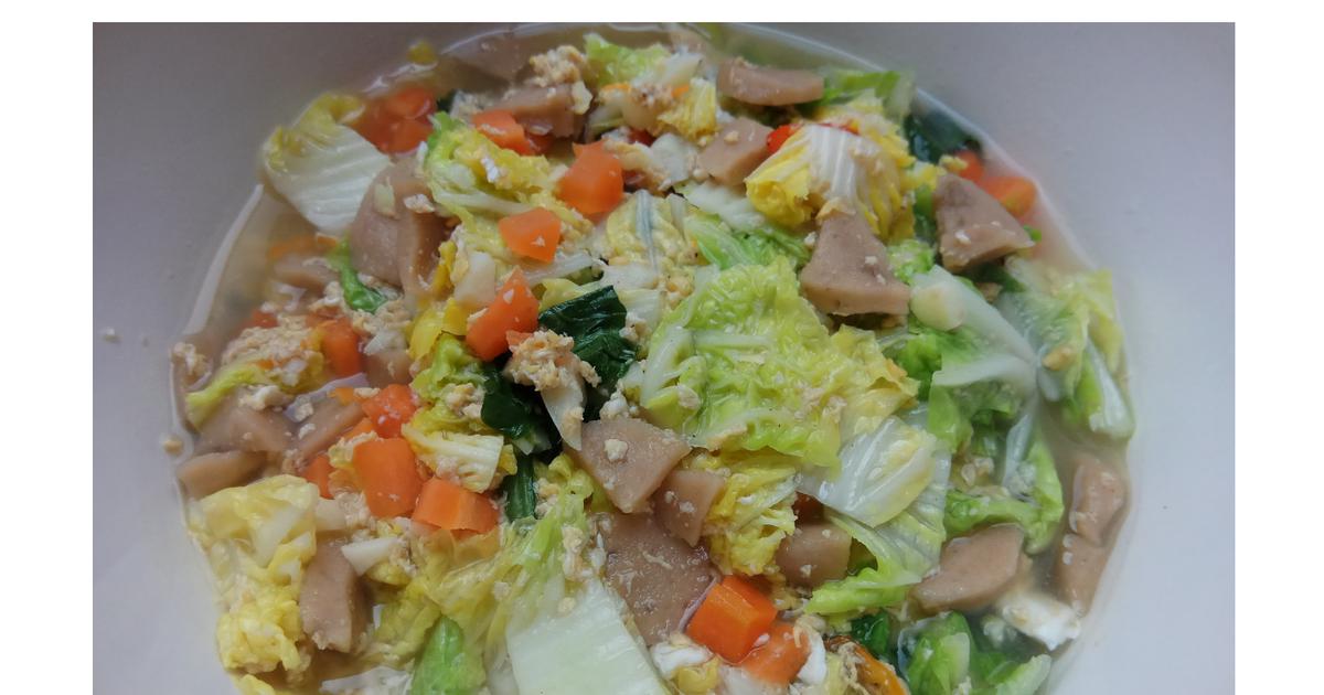 Resep Tumis Sawi Putih Kuah Telur Oleh Ika Pradipta Resep Makanan Resep Tumis