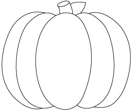 pinlaura on colouring pages for adults  pumpkin outline