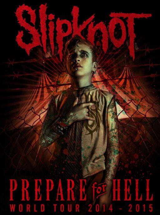 Prepare For Hell World Tour 2014 - 2015 | music | Slipknot