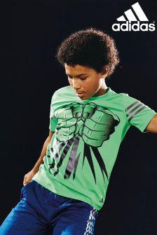 adidas marvel t shirt hulk
